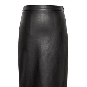 Banana Republic Vegan Leather Skirt - NEW